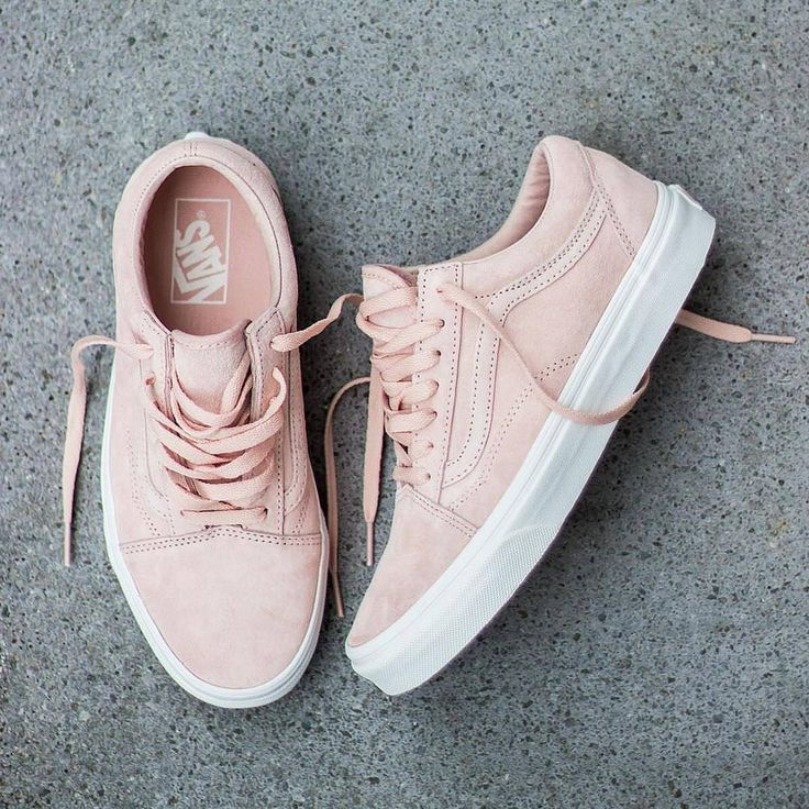 VANS OLD SKOOL PIG SUEDE WMNS SHOES