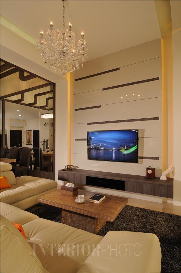High Ceiling Living Room Design