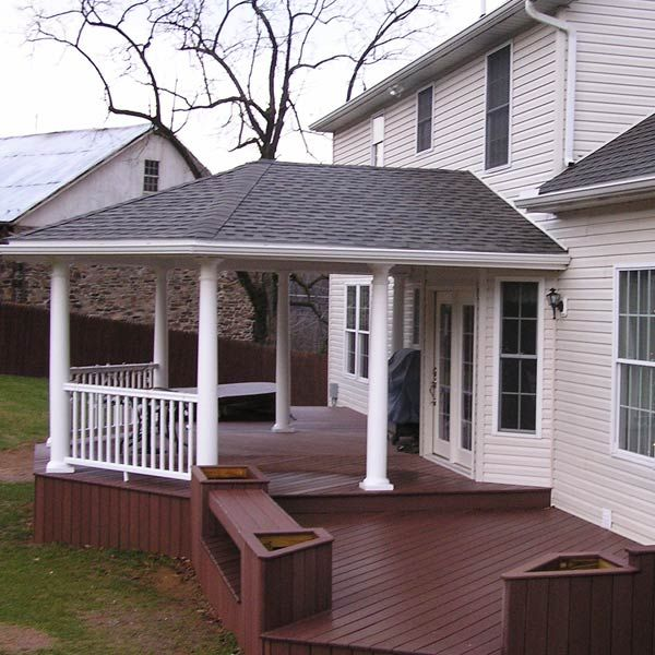 102 best front porch open porch and covered deck design for Covered porch