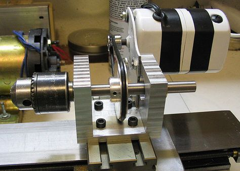 Auxiliary Spindle for the Small Lathe