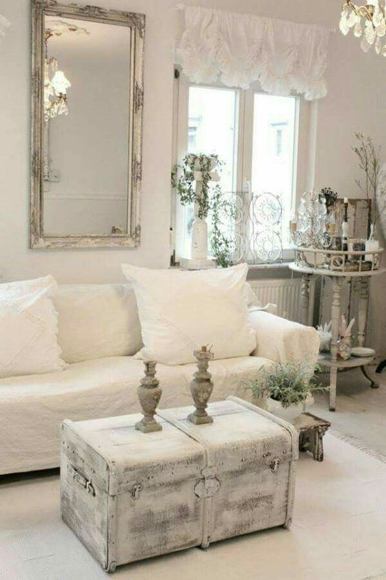 884 best shabby chic country decor rustic images on - French shabby chic living room ideas ...