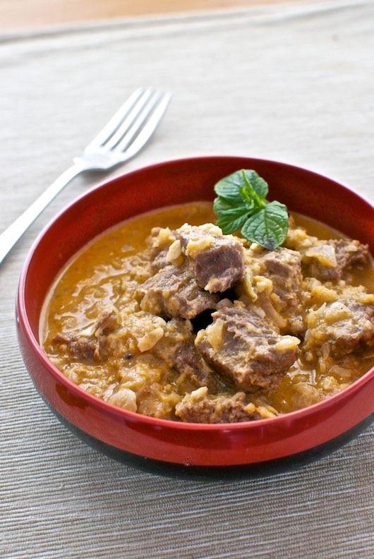 Curry de ternera con cebolla y cacahuetes, receta de Tailandia con Thermomix « Thermomix en el mundo