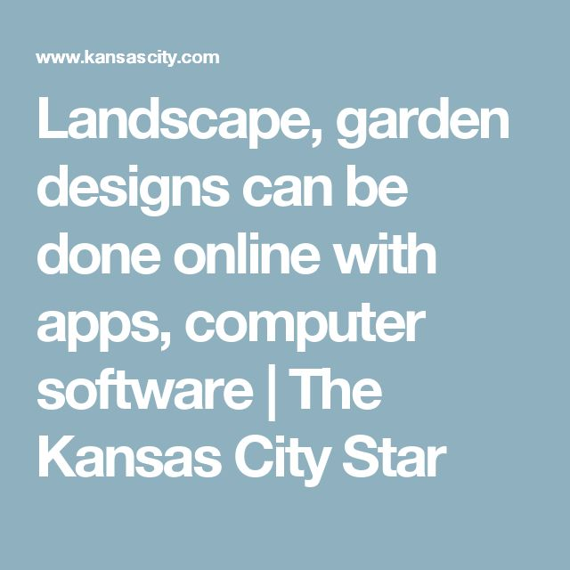 Best Garden Design Software Ideas On Pinterest Free Garden - Computer program for backyard design