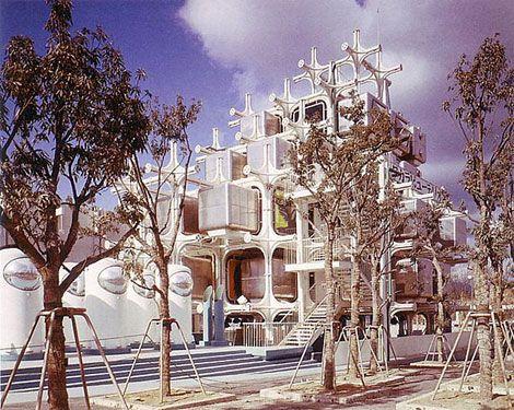 Takara Beautilion Pavilion, Osaka 1970 - Kisho Kurokawa .