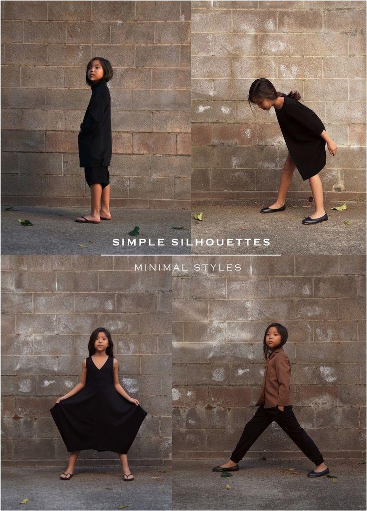 minimal japanese clothing for kids