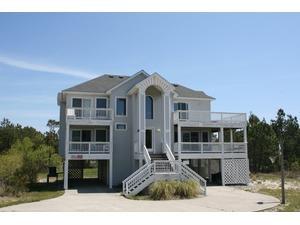 Outer Banks (OBX) rental: Seaside Manor - Oceanside 5 bedroom house in Whalehead Beach, Corolla,