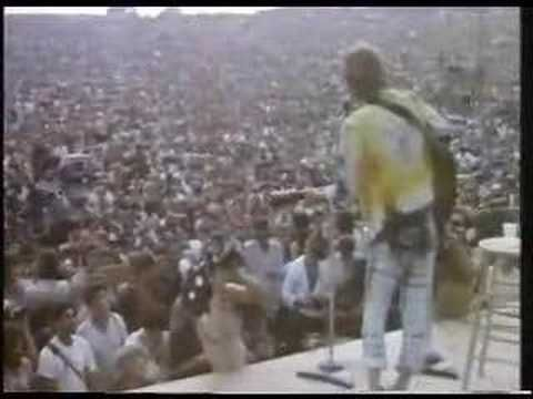 John Sebastian, a local resident did a set today 8-17 in 69 at Woodstock. Among the songs he sang were 'Darling Be Home Soon.'
