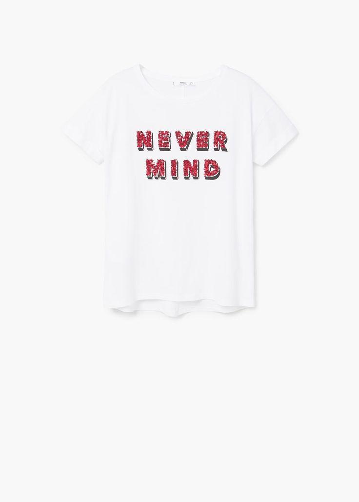 T-shirt coton sequins RÉF. 83000240 - Nevermin 19,99€12,99€ (-35 %)