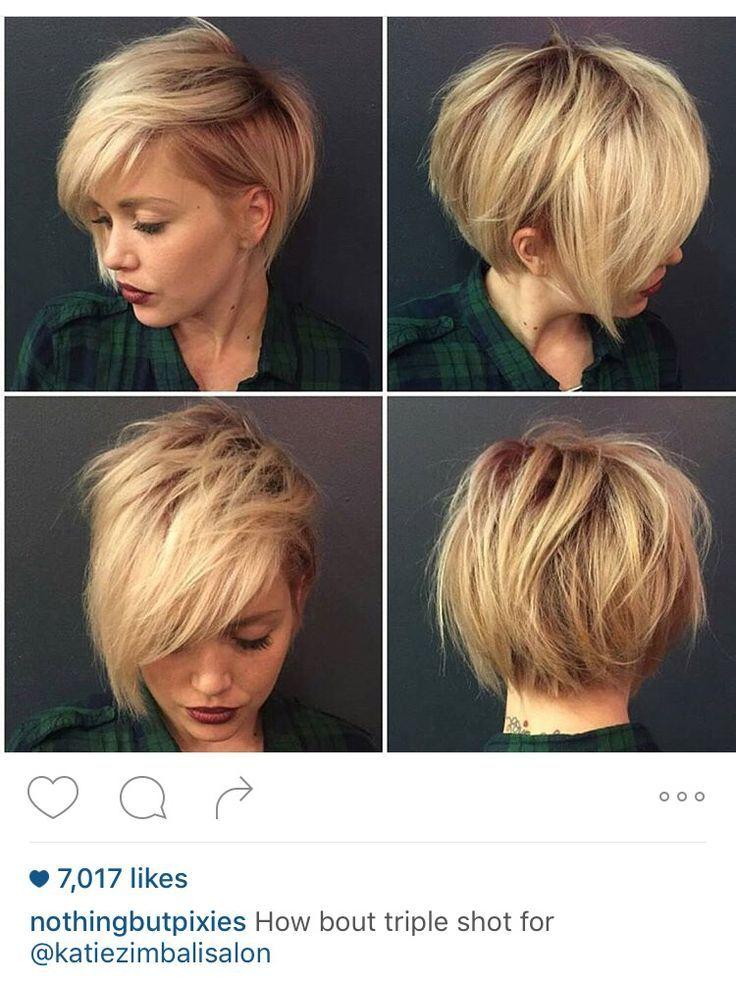 Nice Asymmetrical Bob Texture Blonde Assymetrical