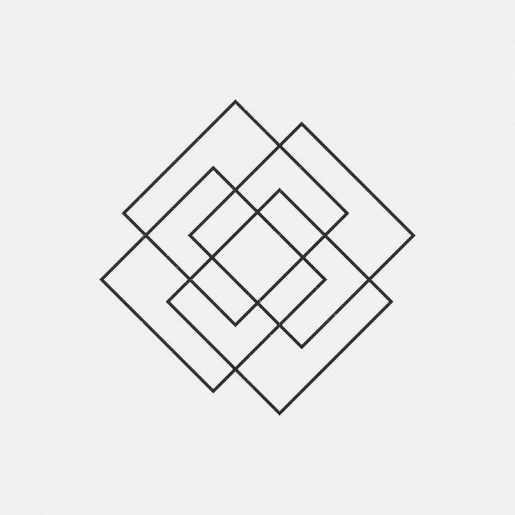 Annabella 67 Art Line Design : Best ideas about square tattoo on pinterest optical