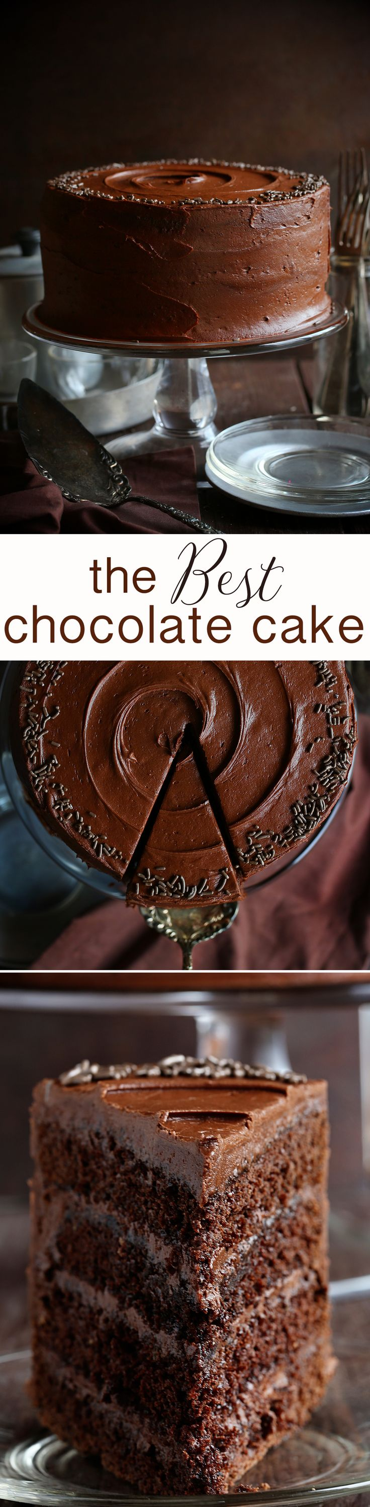 Using avocado in place of the fat makes this cake healthier than your average chocolate cake. But the flavor? Decadent as ever!!! (Easy Chocolate Cake)