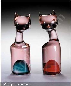CENEDESE Gino - CAT SCULPTURES