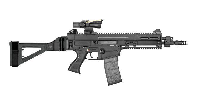 SB Tactical Side Folding Brace for CZ 805 BREN S1 Pistol - The Firearm BlogThe Firearm Blog