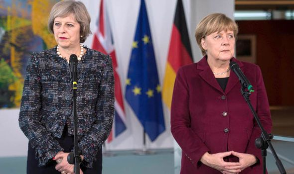 Merkel vows to foot the bill for EU army as Britain prepares to withdraw from the bloc.(November 18th 2016)