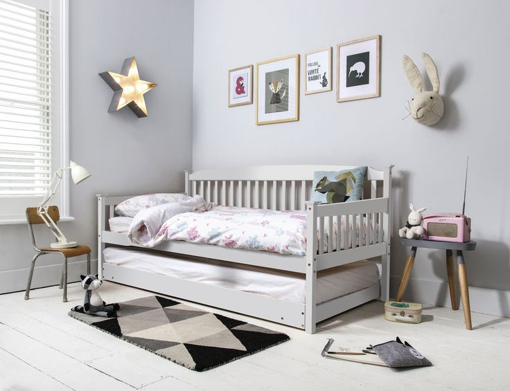 day bed single bed isabella with pull out trundle in choice of colours single bedsgirls ideasbed