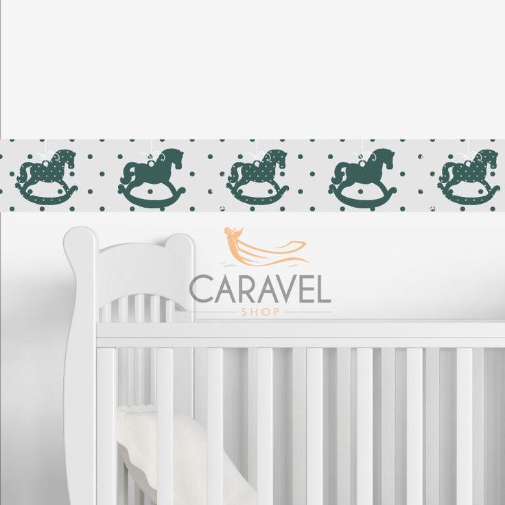 Παιδικά Αυτοκόλλητα τοίχου Stickers Λορίδα τοίχου