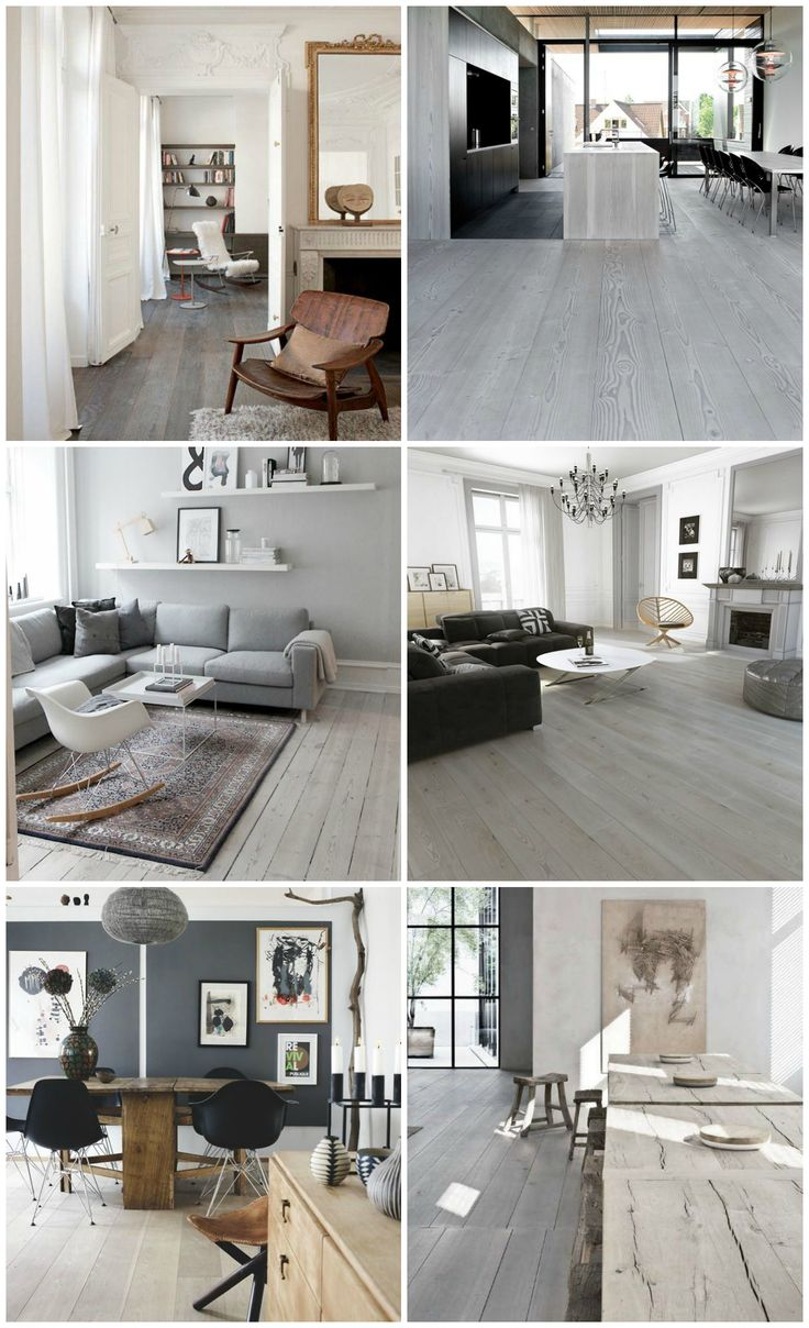 Pinspiration | grey wood floors - Bliss