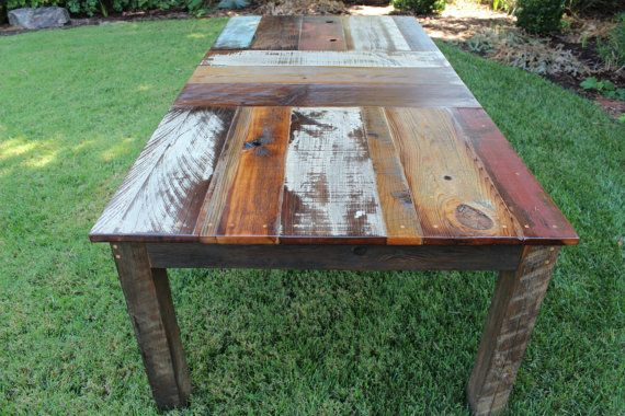 60 Reclaimed Wood Kitchen Dining Table by appendageandbough, $900.00