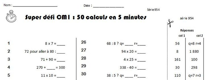 520 best images about matem tiques on pinterest for Table multiplication cm1