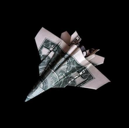 Super origami plane airplane dollar bills 15+ Ideas