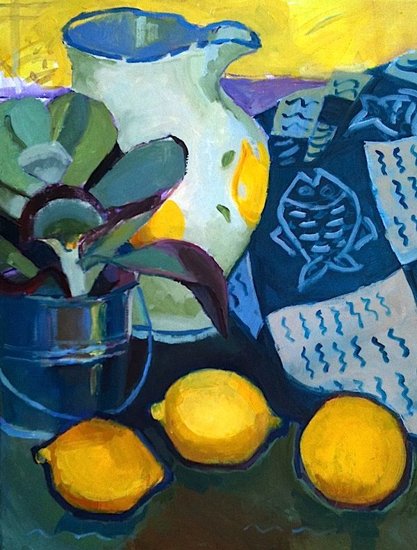 bofransson:  Still-life with lemons - Iona Stern
