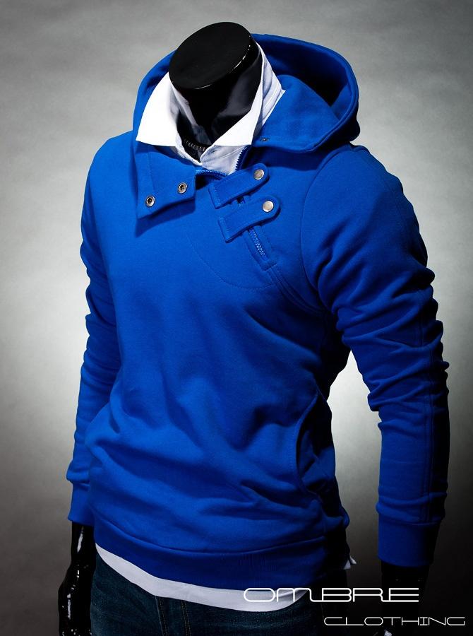 Mikina Paco modrá