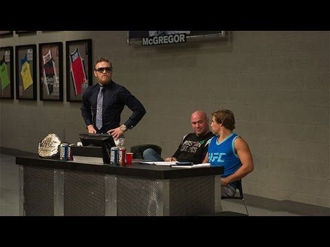 The Ultimate Fighter 22: McGregor and Faber Mix It Up - YouTube