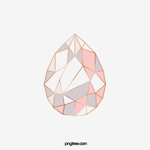 Flat Diamond Shape Geometric Abstraction Rose Gold Patterns Geometric Flat Abstract Png Transparent Clipart Image And Psd File For Free Download Geometric Arrow Geometric Diamond Diamond Shapes