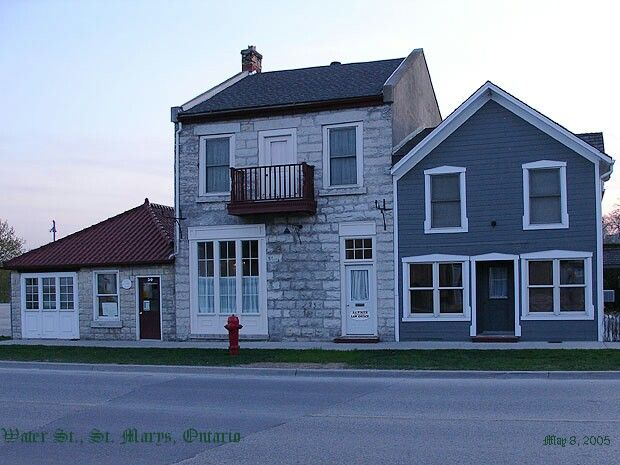 Water Street, St Marys, Ontario Canada