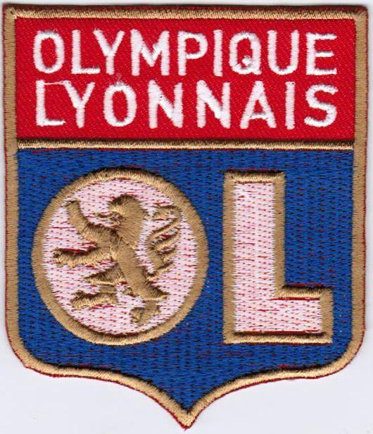 Ligue 1 Olympique Lyonnais Lyon OL French League France Football Iron On Patch