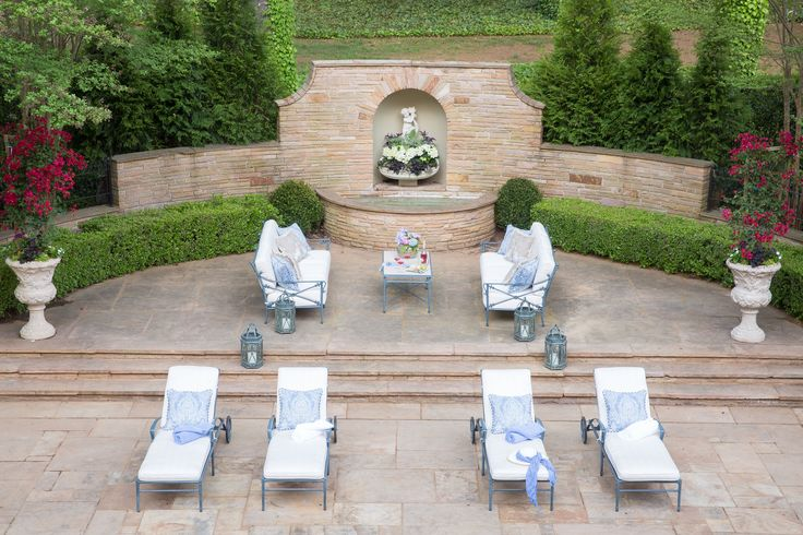 74 best images about outdoor living spaces on pinterest for Garden loggia designs