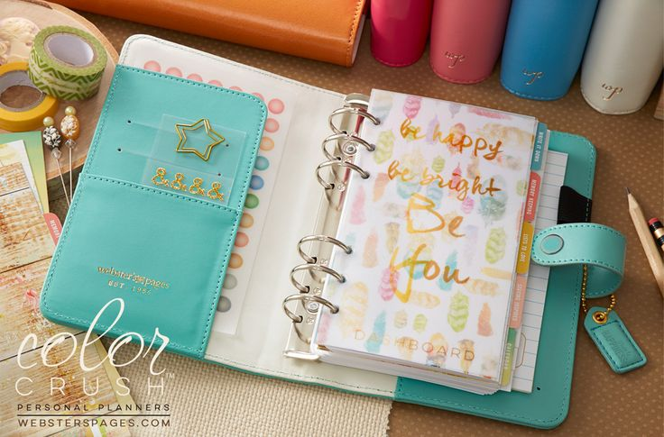 Personal Planner Kit : Light Teal - Personal Planner Kits - Color Crush Planners - Shop Retail