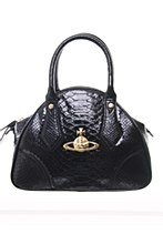 Vivienne Westwood Womens Bag Black N/A ecopelle snake pattern