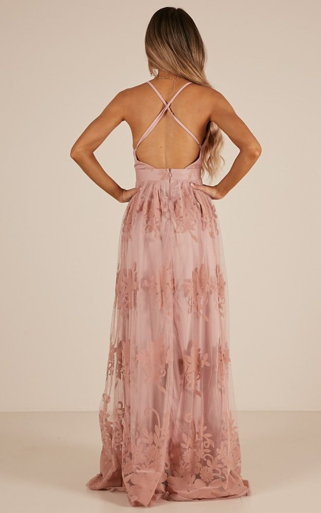 783ee69137f4 Promenade Maxi Dress In Blush Produced in 2019 | Dress | Dresses ...