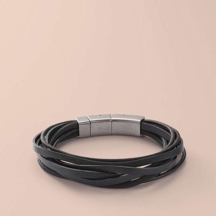 fossil jf86182 herren stahl armband schmuck. Black Bedroom Furniture Sets. Home Design Ideas