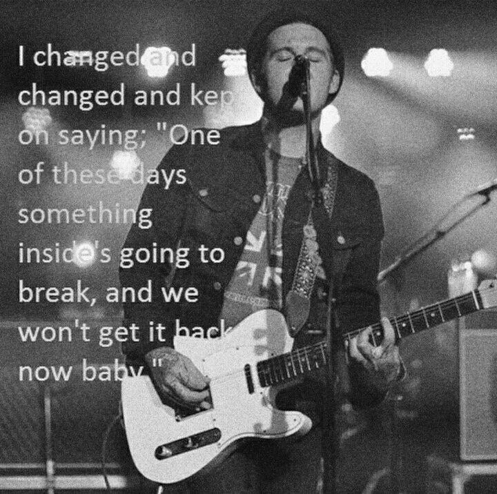 Dark Places Lyrics By The Gaslight Anthem. Brian Fallon