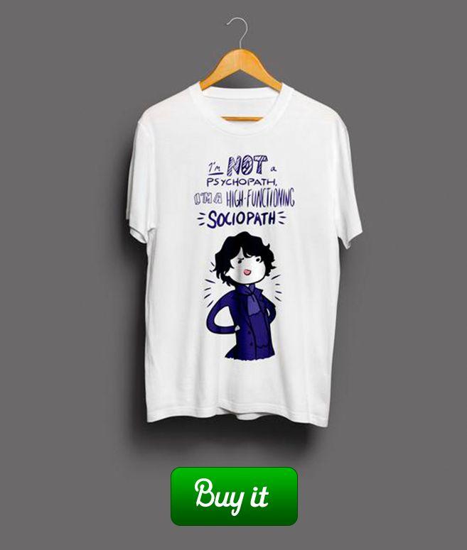 Sherlock sociopath  |  Если ты предан дедукции, хладнокровен и немного социопат, то эта футболка подходит тебе. Только не ходи в ней на свидания. #Шерлок #Sherlock #BBC #Deduction #Дедукция #Detective #Детектив #Benedict  #Cumberbatch #Камбербэтч #221b #baker #street