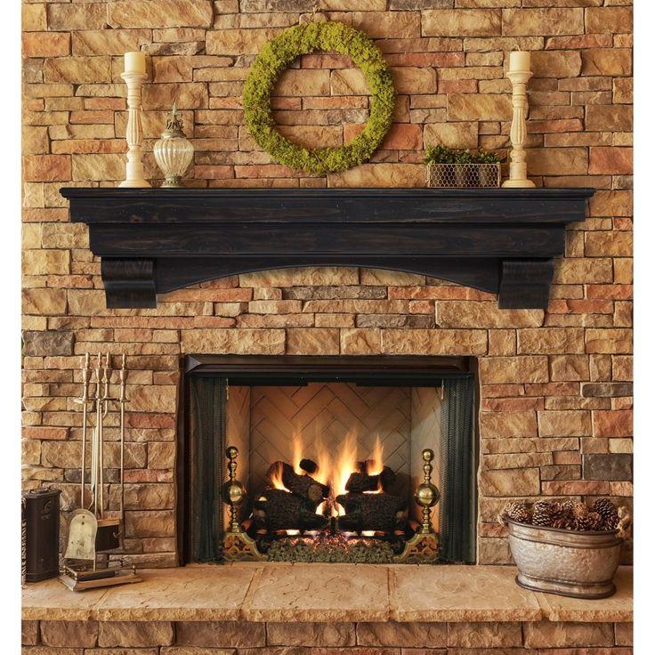 Pearl Mantels Celeste Fireplace Mantel Shelf - Fireplace Mantels at Hayneedle