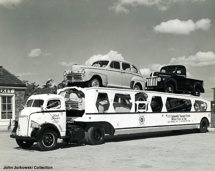 Vintage Car Hauler Pictures & 132 best Car Haulers images on Pinterest | Car carrier Cars and ... markmcfarlin.com
