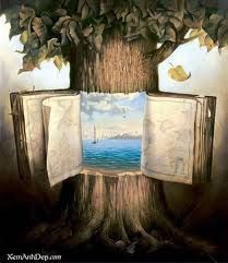 I like that the tree opens like a book
