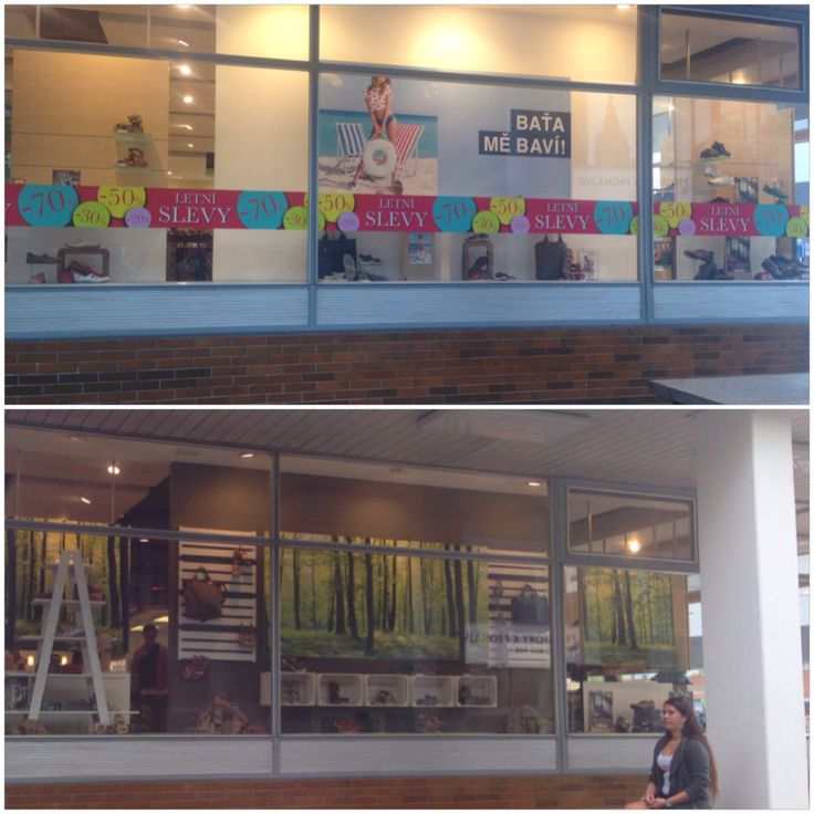 Before and after - bata store/zlin/czech #visualmerchandise