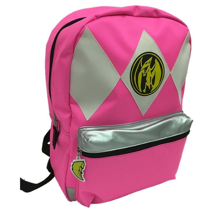 Power Rangers Backpack, Dark Pink