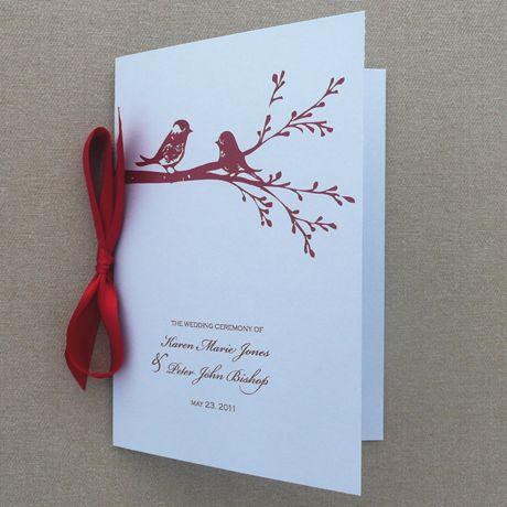 59 best DIY Wedding Programs images on Pinterest | Wedding program ...