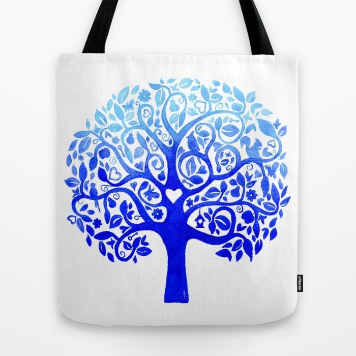 Tree of Life Tote Bag by The Willow Wood Studio | Society6