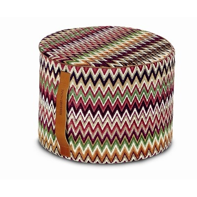 Missoni Home Nador Cylindrical Pouf