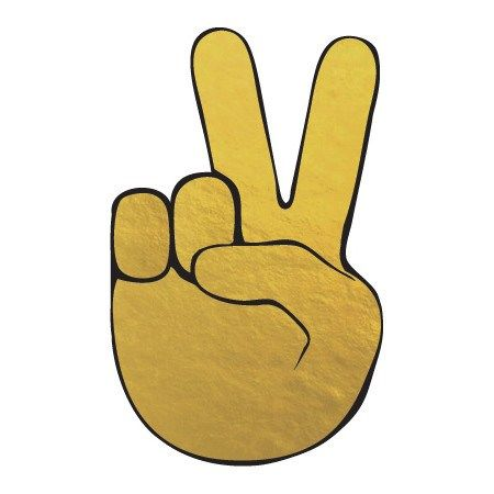 Peace Sign Emoji
