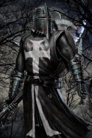 This Knight Is Known To Be Called A Dark Knight ,,, you must ask yourself ,,Does he Fight for Good or Evil,,,, D.H. More