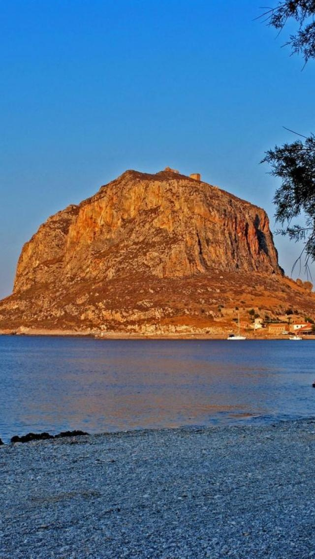 GREECE CHANNEL   MONEMVASIA, Peloponnese, Greece