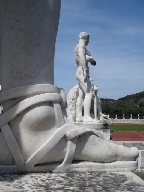Stadio dei marmi - Foro Mussolini - Enrico Del Debbio - Rome - Fascism