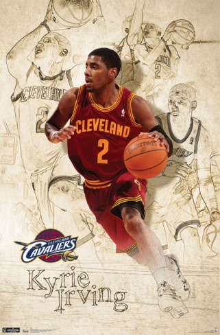 Cavaliers - Kyrie Irving 2011 Poster